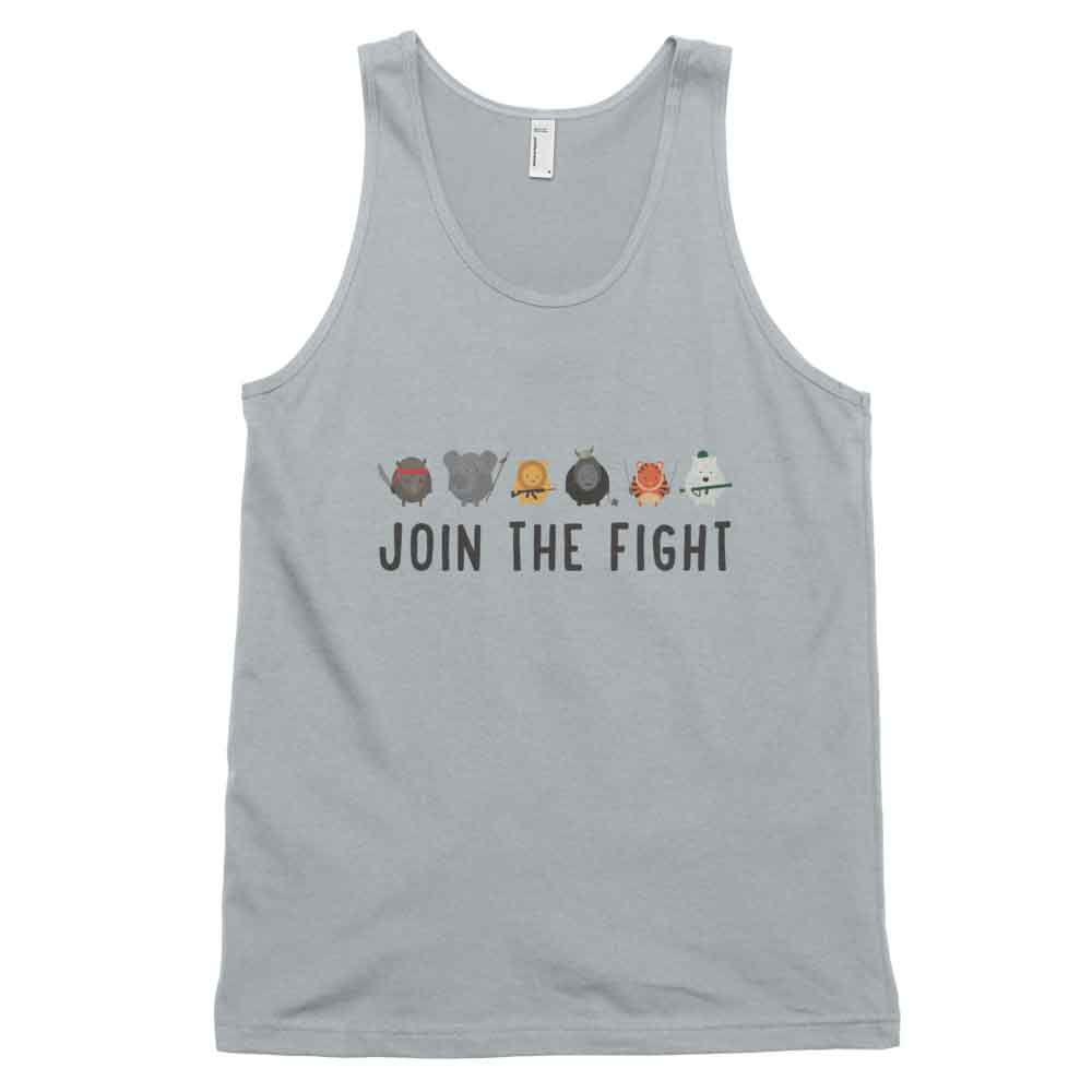 Join the Fight Tank - New Silver