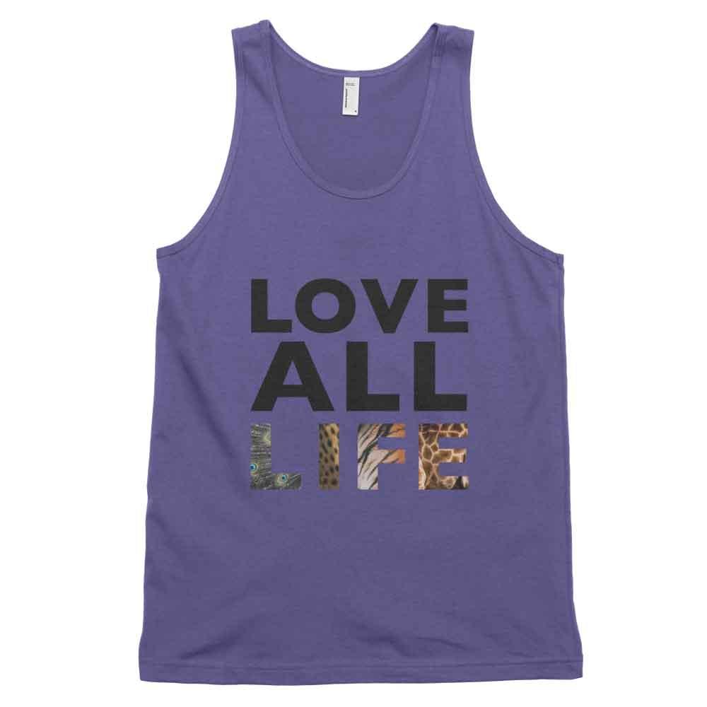 Love All Life Tank - Purple