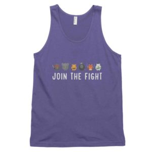 Join the Fight Tank - Purple