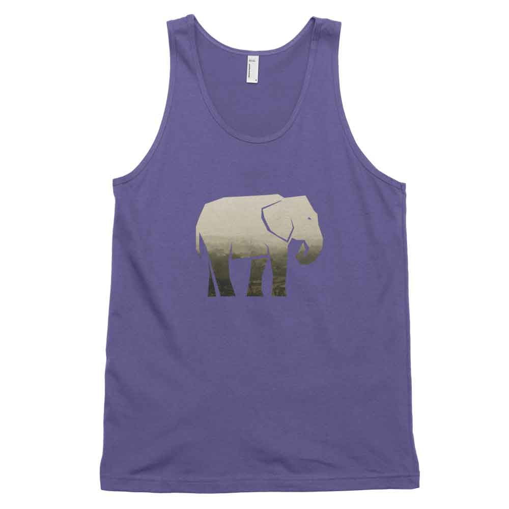 Elephant Habitat Tank - Habitat Purple