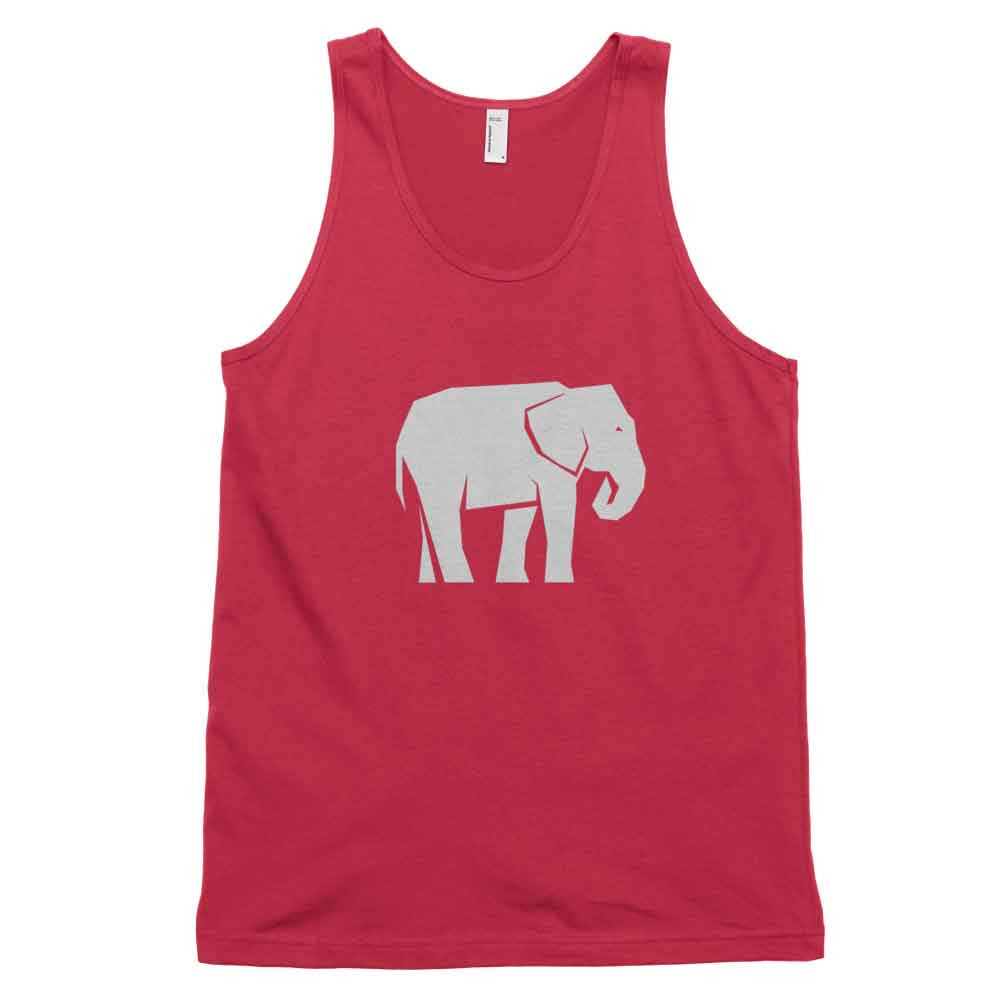 Elephant Habitat Tank - White Red