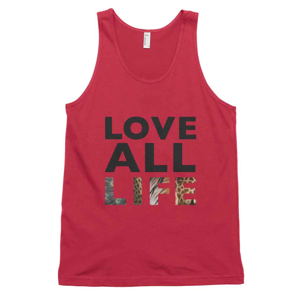 Love All Life Tank - Red