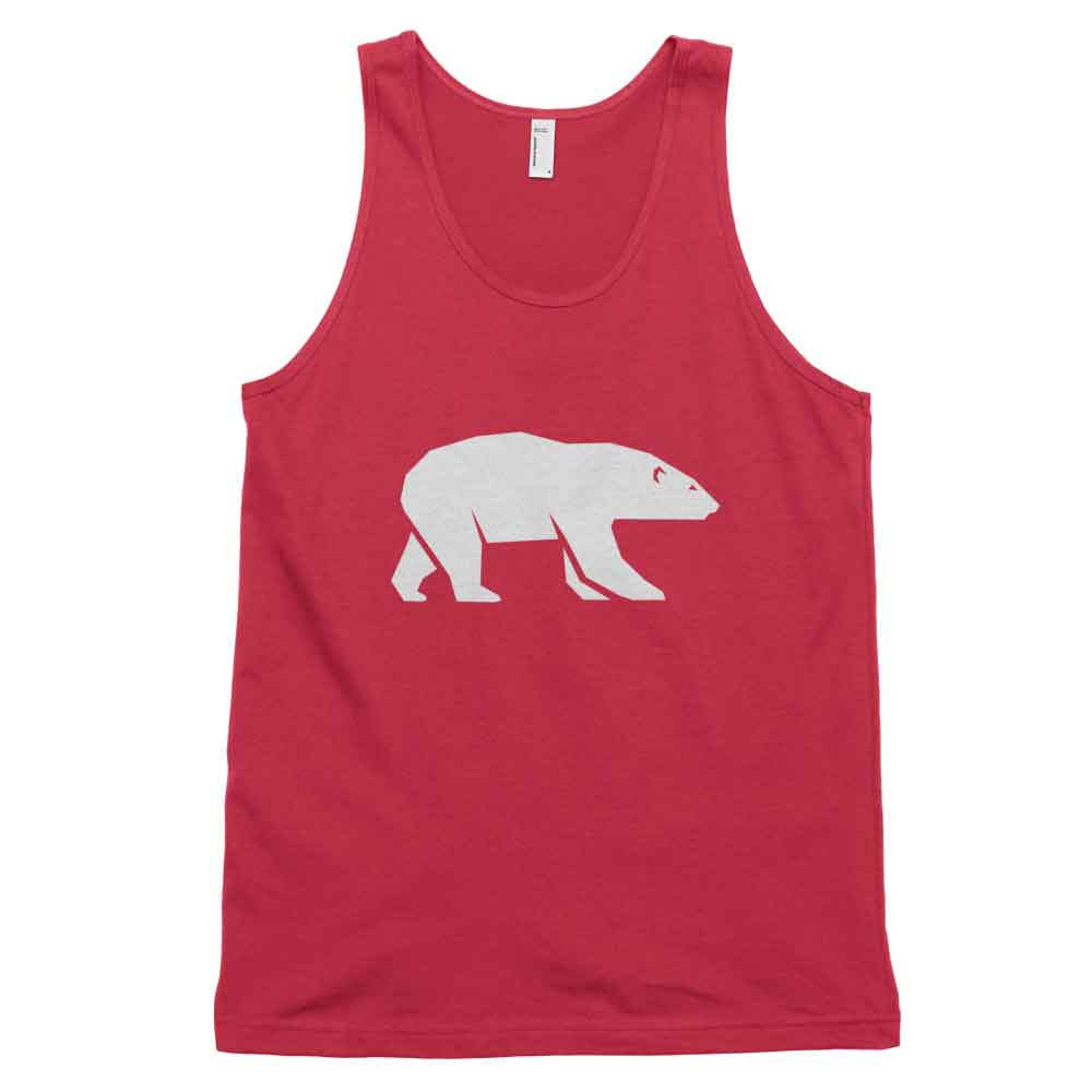 Polar Bear Habitat Tank - Red
