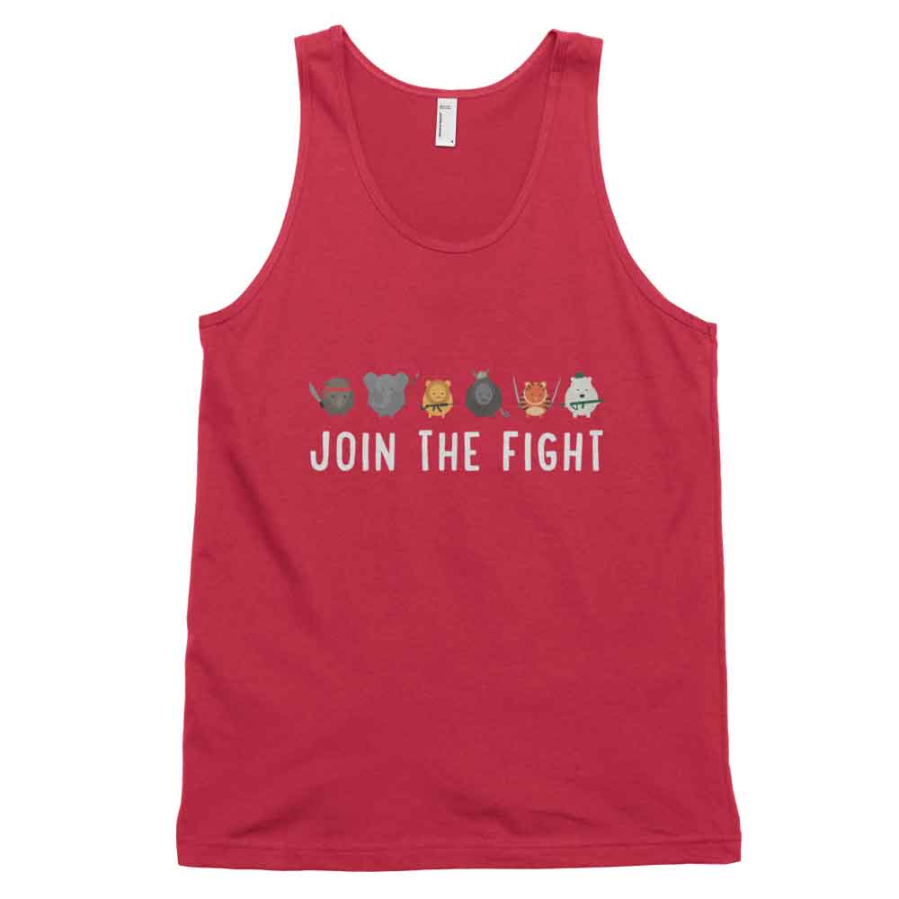 Join the Fight Tank - Red