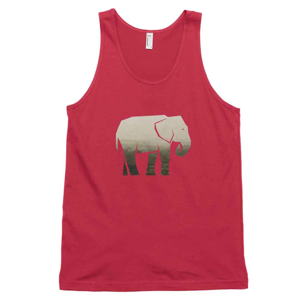 Elephant Habitat Tank - Habitat Red