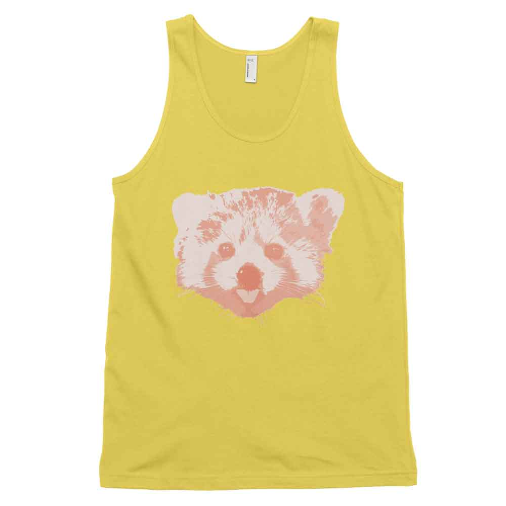 Red Panda Tank - Sunshine