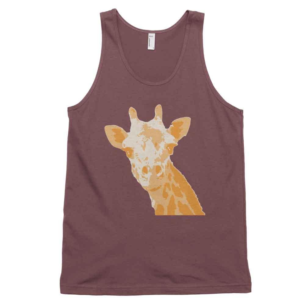 Giraffe Tank - Truffle