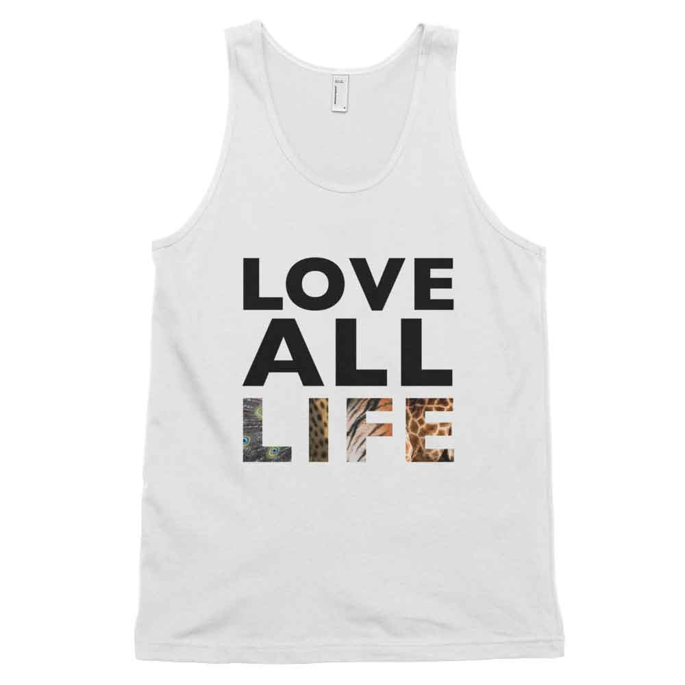 Love All Life Tank - White