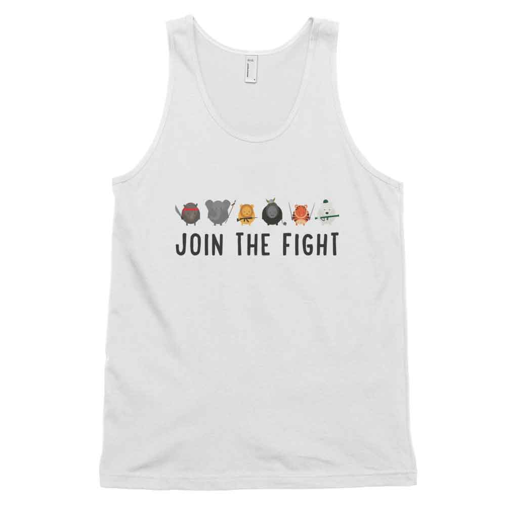 Join the Fight Tank - White