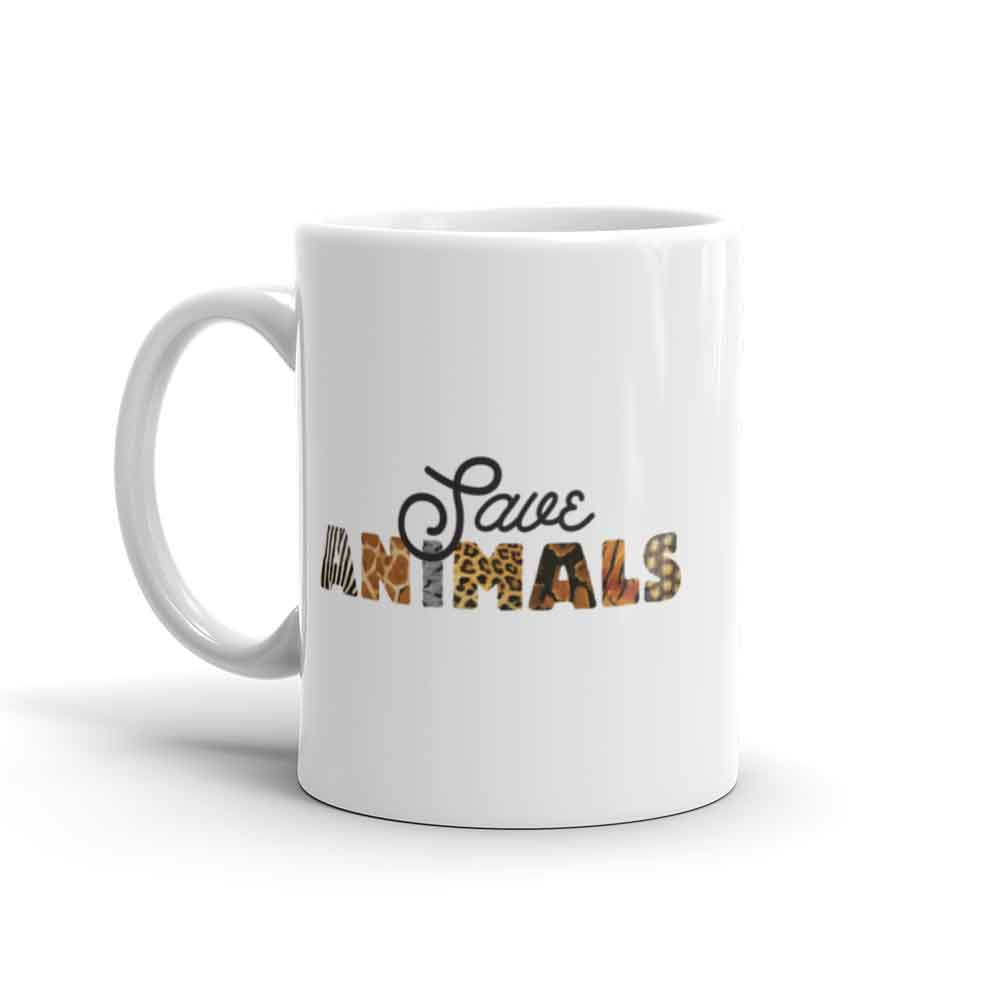Save Animals Mug