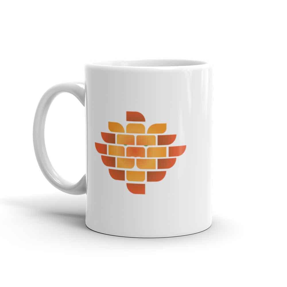Brick Lion Mug