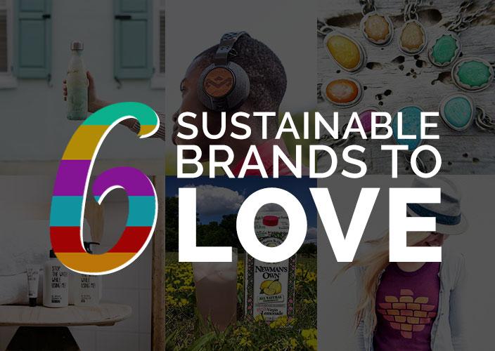 6 Sustainable Brands That Give Back