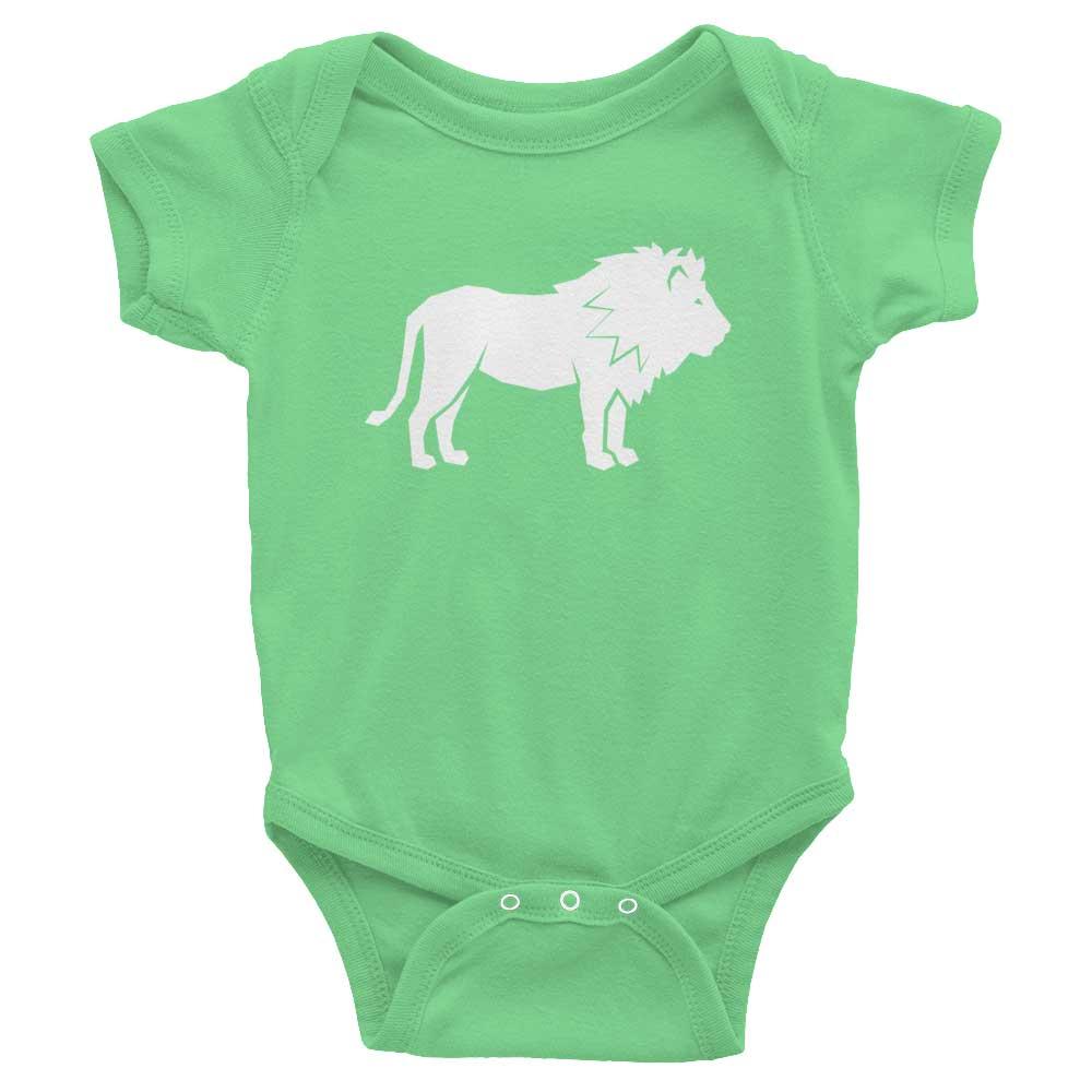 Lion Habitat Baby Onesie - Grass